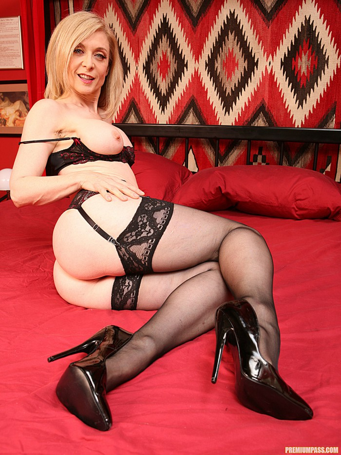 Nina Hartley Teasing